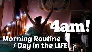 My 4am Morning Routine | Day in the Life