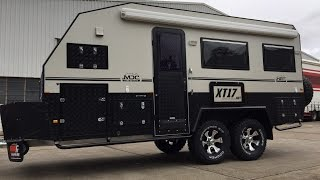 MDC XT17-HRT (Hard Roof Tandom Axle) Offroad Caravan on Creek to Coast