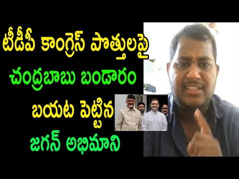 YS Jagan Fan Contraversy Comments On TDP Congress Parties At Delhi Meets Ap CM | Cinema Politics