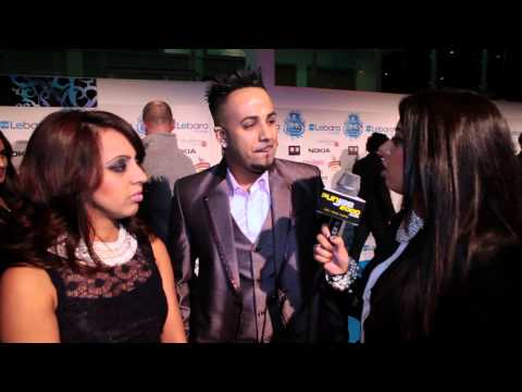 Punjab2000.com interview with JK at the UK AMAs 2012