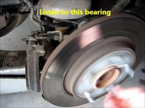 2008 Chrysler Town Amp Country Rear Wheel Bearing Noise
