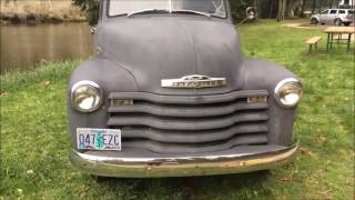 1950 Chevy 3100 Truck Original