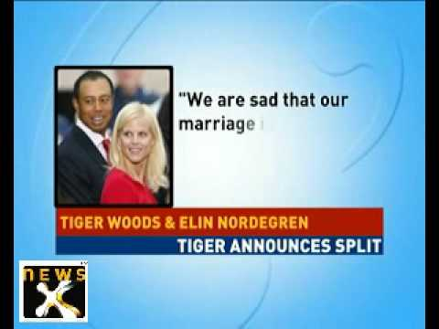 Tiger Woods's marriage officially ends