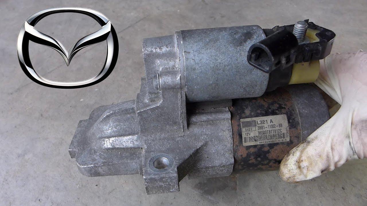 Mazda 6 2 3l Starter Removal