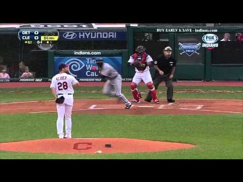 Michael Brantley: Outfield Assists