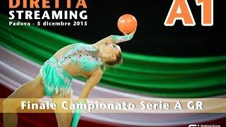 Padova 2015 - Diretta Streaming 4ª Prova Serie A1 di Ritmica