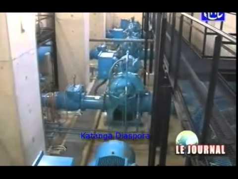Joseph Kabila inaugure le nouveau palais de justice  et l'usine d'eau potable de Kinshasa.