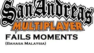 GTA SAMP : Stunt Zone 2.0 fails moments w/ Hazieq, Jad and More! (Bahasa Malaysia)
