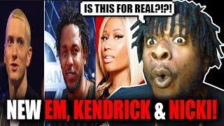 New Eminem, Kendrick Lamar & Nicki Minaj Song?!