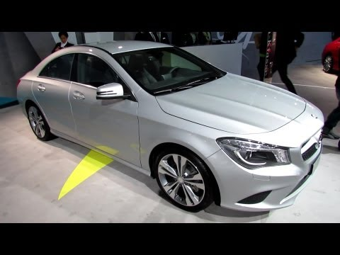 2014 Mercedes-Benz CLA 180 - Exterior and Interior Walkaround - 2013 Frankfurt Motor Show