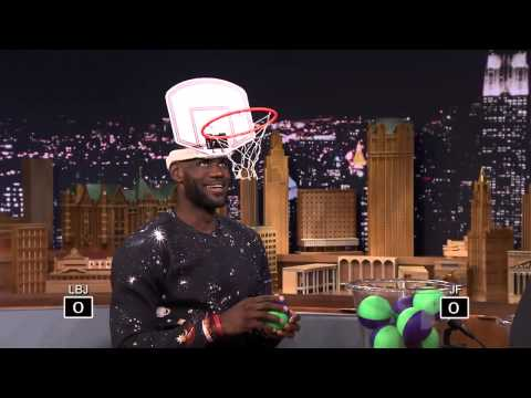 """Faceketball with LeBron James + Nike 12 Low """"Trainwreck""""."""
