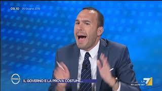 Manlio Di Stefano ospite a Omnibus La7 25/06/2019