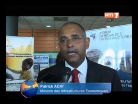 Abidjan: ouverture de la 7e édition du Forum Africain des Infrastructures