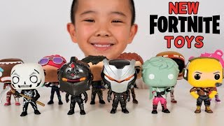 NEW FORTNITE TOYS!! Ckn