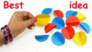DIY paper crafts   Best craft idea   DIY arts and crafts   Cool idea with colour paper