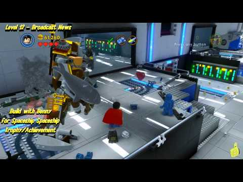 "The Lego Movie Videogame: ""Spaceship Spaceship!"" Trophy/Achievement - HTG"