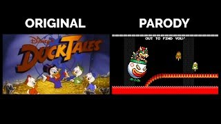 DuckTales and DuckBros Theme Side By Side