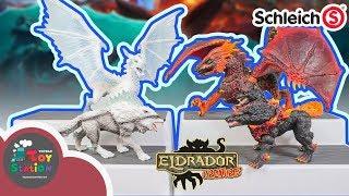 Những quái thú Eldrador siêu ngầu từ hãng Schleich Đức ToyStation 345
