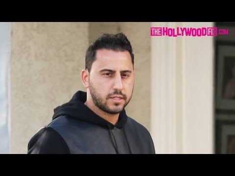 Josh Altman From Million Dollar Listing LA Spotted Walking Through Beverly Hills 11.28.15