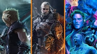MORE PS1 Final Fantasy Remakes? + The Witcher Goes to Netflix + GotG2 Texting Lawsuit - The Know