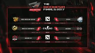 ROG Masters Indonesia Finals 2017 Day 2