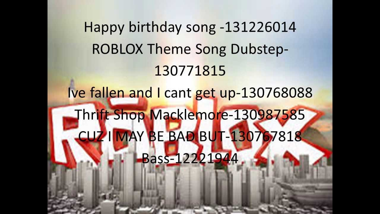 100 song ids roblox