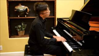 Jonathan Po plays Bach English Suites Gavotte 1& II