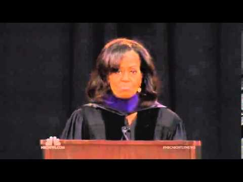 Michelle Obama's Bowie State Commencement Speech