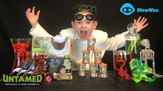 UNTAMED Mad Lab Minis | Hybrid Creatures Extracted From Slime, Sand and Clay