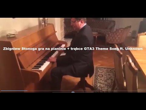 Zbigniew Stonoga Gra Na Pianinie