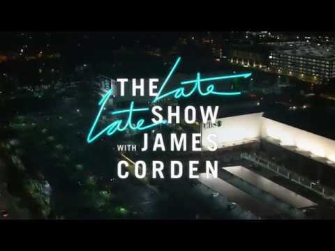 The Late Late Show with James Corden - V1 Open