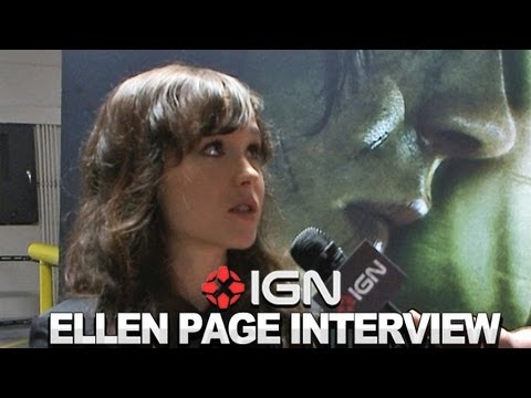 Beyond: Two Souls - Ellen Page and David Cage Interview - Comic-Con 2012