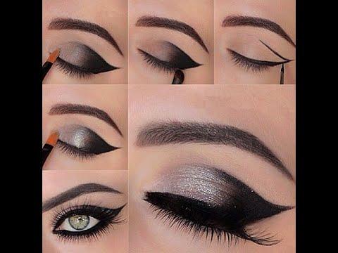 Maquillaje de Ojos Paso a Paso Ahumados Ojos Ahumados Paso a Paso
