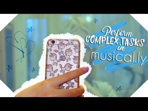 ВЫПОЛНЯЮ СЛОЖНЫЕ ЗАДАНИЯ В musical.ly