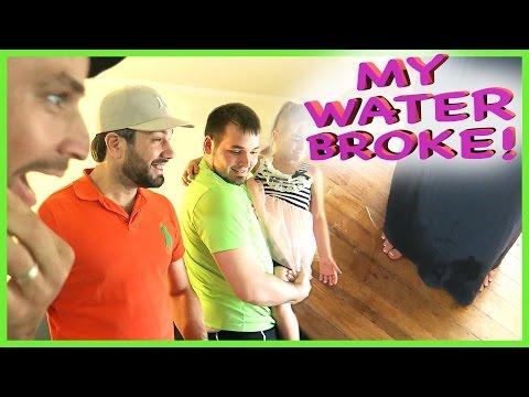 MY WATER BROKE!!!!  (PRANK)