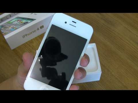 iPhone 4S Unboxing 16GB White