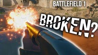 BATTLEFIELD 1 MODEL 10 HUNTER SHOTGUN SPREES | BF1 Assault Gameplay