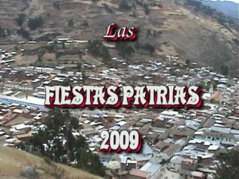 Danzas Folcl�ricas en Llata. Fiestas Patrias 2009. [1] Llata, Huamal�es, Hu�nuco.