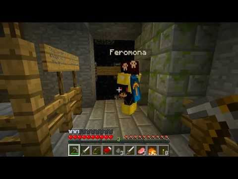 Prisao Escondida? ft. Feromonas - STRATOSPHERE SURVIVAL #3 MINECRAFT