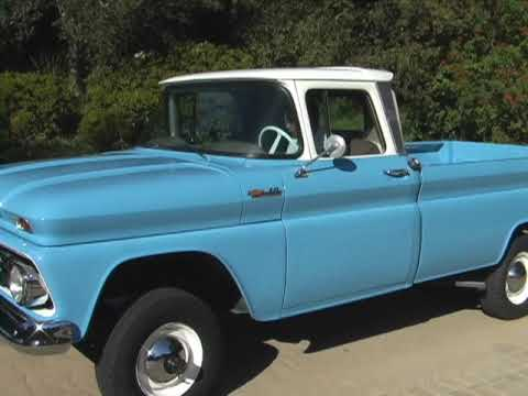 1962 Chevy C 10 Original 4 Wheel Drive Pick Up For Sale On