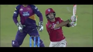 Rising Pune Super Giants Vs Kings XI Punjab | IPL T20 2016 | Maxwell Finish It Off In His Style