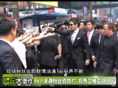 [Rain (Bi) News][Eng Sub]110528 QIYI_ Rain @ MCM Grand Opening Event in Hong Kong