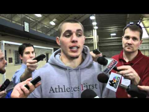 ND Pro Day interview - Harrison Smith