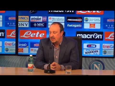 Rafa Benitez presenta Palermo-Napoli in conferenza stampa