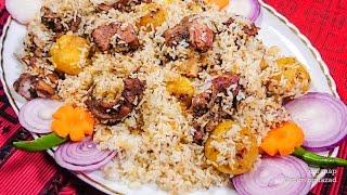 গামছা দমে কাচ্চি বিরিয়ানি | Bangladeshi Easy Kacchi Biryani Recipe