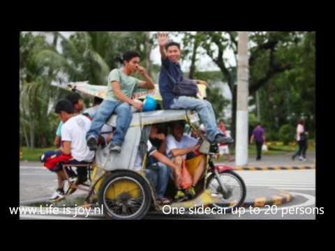 Philippines Sidecars / Tricycles - Jeepneys Filipijnen Phillipines Philipines Phillippines