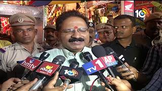 DGP Mahender Reddy visit Khairatabad Ganesh and Arrangements