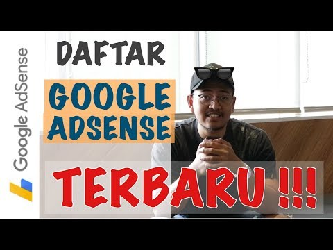 DAFTAR GOOGLE ADSENSE YOUTUBE 2017, 100% APPROVED !!!