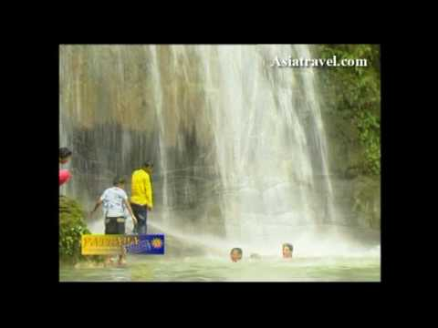 Erawan Waterfall Nature Reserve Park Thailand by Asiatravel.com