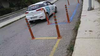 Direksiyon sınavında park etme